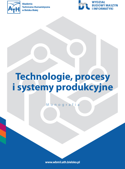Book Cover: Technologie, procesy i systemy produkcyjne'2020