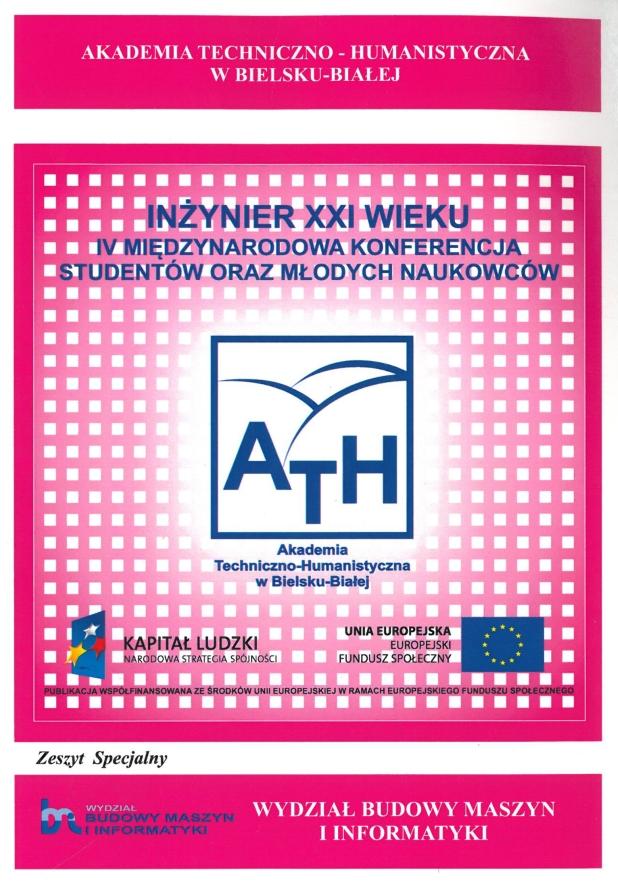 Book Cover: IV Międzynarodowa Konferencja Studentów oraz Młodych Naukowców