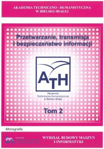 Book Cover: Processing, transmission and security of information - 2019 vol. 2