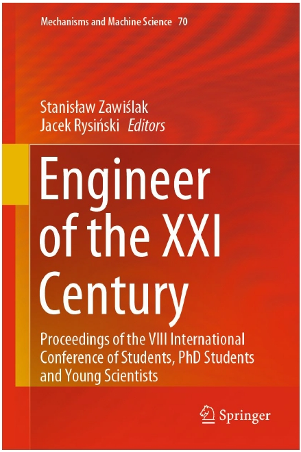 Book Cover: Engineer of the XXI Century: Proceedings of the VIII International Conference of Students, PhD Students and Young Scientists