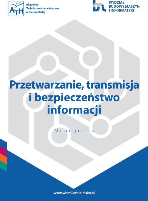 Book Cover: Przetwarzanie, transmisja i bezpieczeństwo informacji'2020