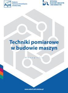 Book Cover: Techniki pomiarowe w budowie maszyn